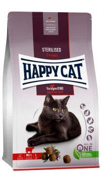 Happy Cat Adult sterilised oxkött   4 kg