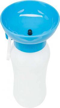 Vattenflaska med Drickskål | 0,55L