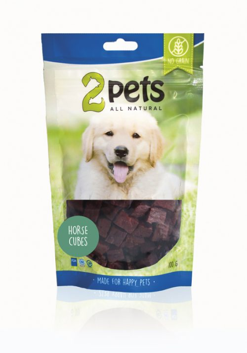 2pets Dogsnack Häst 100 g