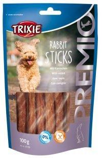 Hundgodis Kanin Stickor 100g