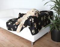 Hundfilt Svart 100x150cm