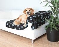 Hundfilt - Svart/Grå - 100 x 150cm