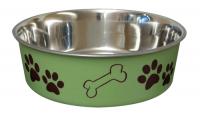 Bella Bowl Grön | Hundmatskål