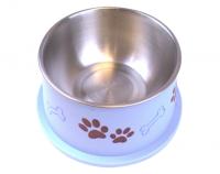 Bella Bowl Hög - Blå | Hundmatskål