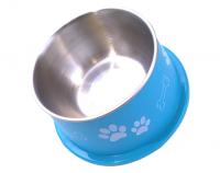 Bella Bowl Hög - Turkos | Hundmatskål