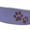 Bella Bowl Blå Metallic | Hundmatskål