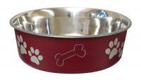 Bella Bowl Röd | Hundmatskål
