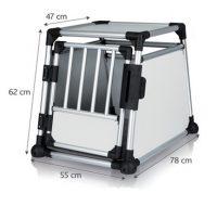 Bilbur aluminium | M: 55xh62x78 cm