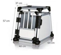 Bilbur aluminium | S: 48xh57x64 cm