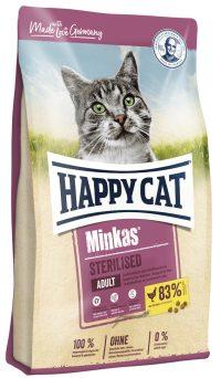 Happy Cat Minkas Sterilised fågel   10 kg