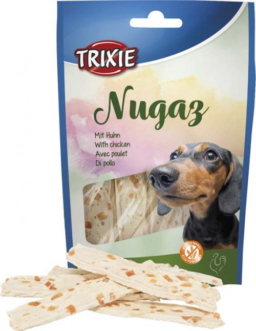 Hundgodis Nugaz med kyckling | 100 g