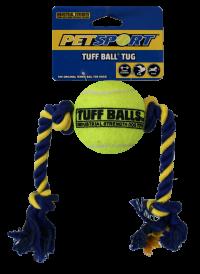 PetSport Mini Tuff Ball Tug Ø 6cm - Rep 32 cm