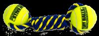 Petsport Repfläta med tennisbollar | 23cm