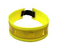 Reflexhalsband med justerbar resår