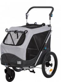 Hundstroller | Cykelvagn - Small - Inkl. Cykelfäste