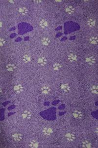 Hundfäll   Vetbed - Big Foot Mörklila - Grå