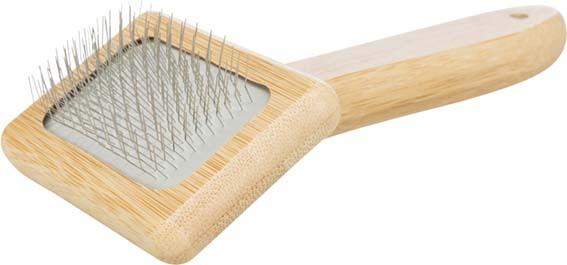 Hundkarda Smal | bambu/metall | 7x16cm