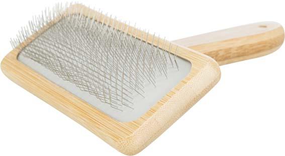 Hundkarda Large | bambu/metall | 12×15cm