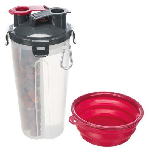 Foder & Vattenbehållare för Hund