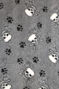 Hundfäll - Döskalle - Svart & Vit