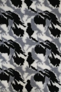 Hundfäll - Camo Vit & Mörkgrå